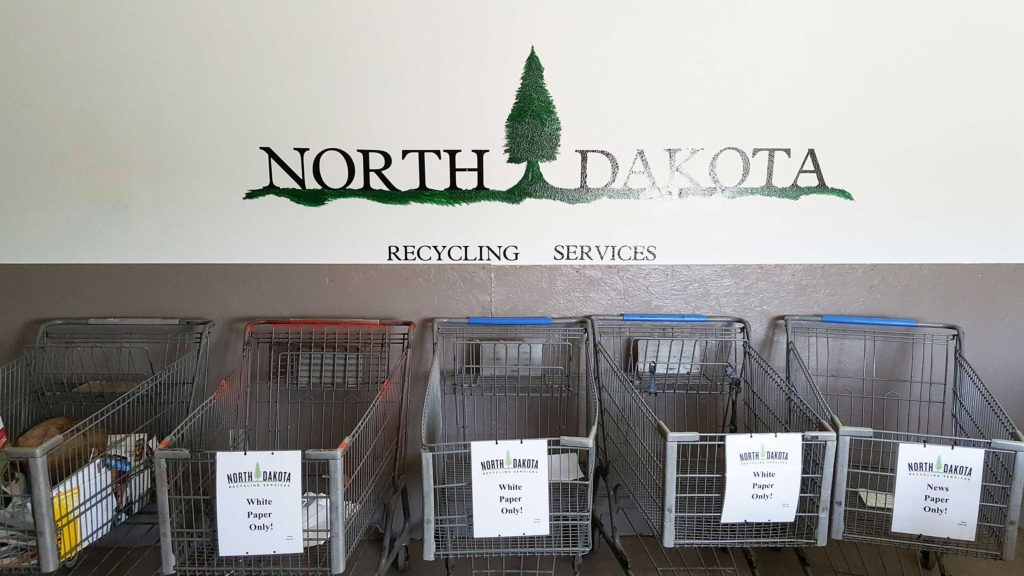 North Dakota Recycling Services Team